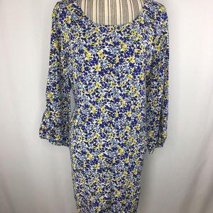 Old Navy floral shift dress xxl